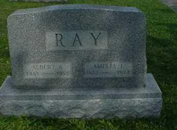 RAY, AMELIA L. - Carroll County, Ohio | AMELIA L. RAY - Ohio Gravestone Photos