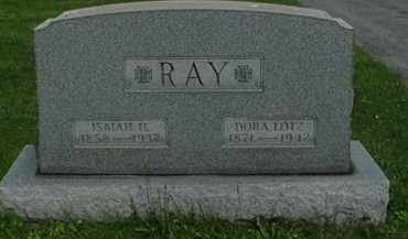 RAY, ISAIAH H - Carroll County, Ohio | ISAIAH H RAY - Ohio Gravestone Photos