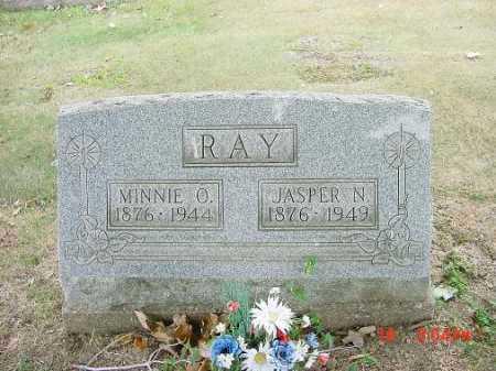RAY, JASPER N - Carroll County, Ohio | JASPER N RAY - Ohio Gravestone Photos