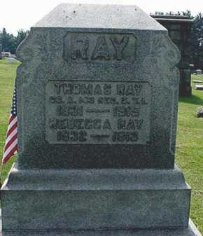 RAY, THOMAS FOX - Carroll County, Ohio | THOMAS FOX RAY - Ohio Gravestone Photos