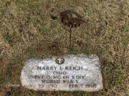 REICH, HARRY LESTER - Carroll County, Ohio | HARRY LESTER REICH - Ohio Gravestone Photos