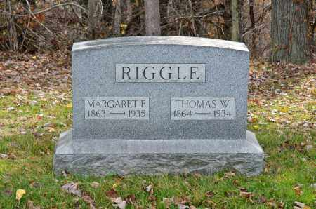 RIGGLE, THOMAS W. - Carroll County, Ohio | THOMAS W. RIGGLE - Ohio Gravestone Photos