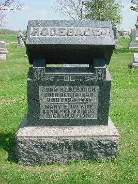 RODEBAUGH, JOHN S. - Carroll County, Ohio | JOHN S. RODEBAUGH - Ohio Gravestone Photos
