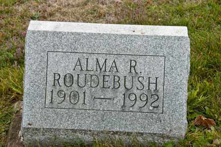 ROUDEBUSH, ALMA R. - Carroll County, Ohio | ALMA R. ROUDEBUSH - Ohio Gravestone Photos