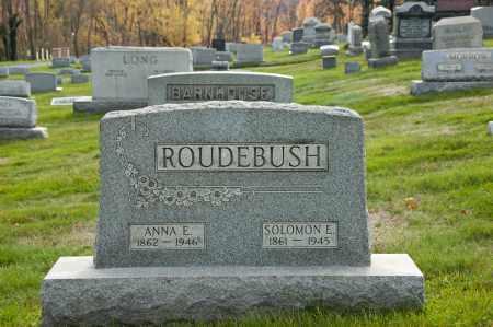 ROUDEBUSH ROUDEBUSH, ANNA ELIZABETH - Carroll County, Ohio | ANNA ELIZABETH ROUDEBUSH ROUDEBUSH - Ohio Gravestone Photos