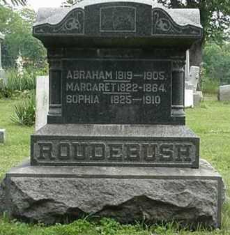 MILLER ROUDEBUSH, SOPHIA - Carroll County, Ohio | SOPHIA MILLER ROUDEBUSH - Ohio Gravestone Photos