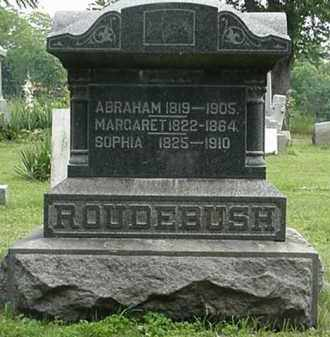 ROUDEBUSH, MARGARET - Carroll County, Ohio | MARGARET ROUDEBUSH - Ohio Gravestone Photos