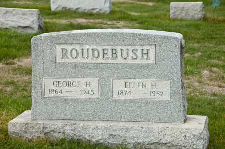 ROUDEBUSH, GEORGE H. - Carroll County, Ohio | GEORGE H. ROUDEBUSH - Ohio Gravestone Photos