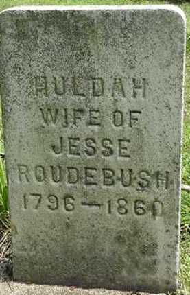 ROUDEBUSH, HULDA - Carroll County, Ohio | HULDA ROUDEBUSH - Ohio Gravestone Photos