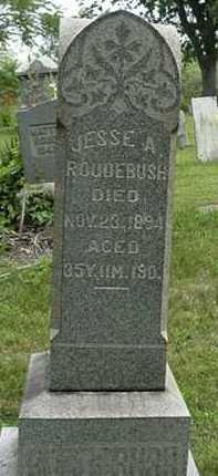 ROUDEBUSH, JESS A. - Carroll County, Ohio   JESS A. ROUDEBUSH - Ohio Gravestone Photos