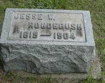 ROUDEBUSH, JESSE W. - Carroll County, Ohio | JESSE W. ROUDEBUSH - Ohio Gravestone Photos