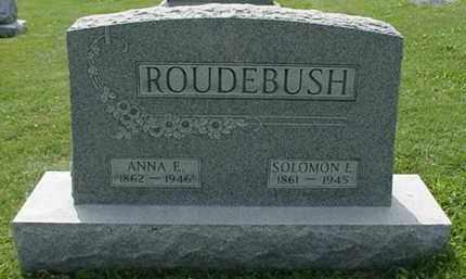 ROUDEBUSH, SOLOMON EDWARD - Carroll County, Ohio | SOLOMON EDWARD ROUDEBUSH - Ohio Gravestone Photos