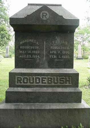 ROUDEBUSH, MARGARET A. - Carroll County, Ohio | MARGARET A. ROUDEBUSH - Ohio Gravestone Photos