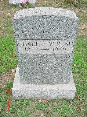 RUSH, CHARLES WESLEY - Carroll County, Ohio | CHARLES WESLEY RUSH - Ohio Gravestone Photos