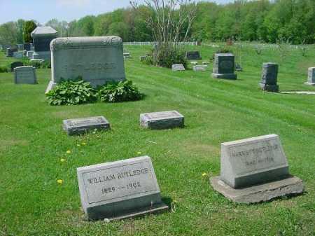 RUTHLEDGE, BURIAL LOT - Carroll County, Ohio | BURIAL LOT RUTHLEDGE - Ohio Gravestone Photos