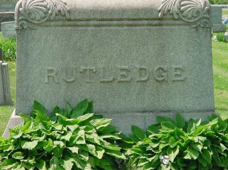 RUTLEDGE, MONUMENT - Carroll County, Ohio | MONUMENT RUTLEDGE - Ohio Gravestone Photos