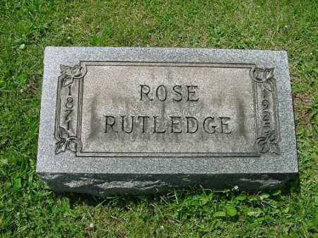 RUTLEDGE, ROSE - Carroll County, Ohio | ROSE RUTLEDGE - Ohio Gravestone Photos