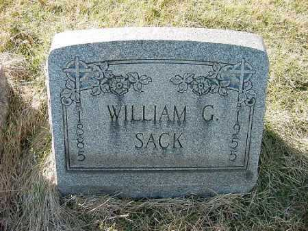 SACK, WILLIAM - Carroll County, Ohio | WILLIAM SACK - Ohio Gravestone Photos