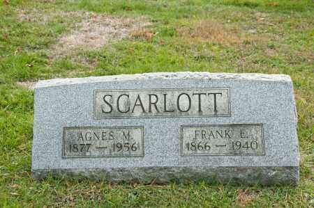 DONALDSON SCARLOTT, AGNES M. - Carroll County, Ohio | AGNES M. DONALDSON SCARLOTT - Ohio Gravestone Photos