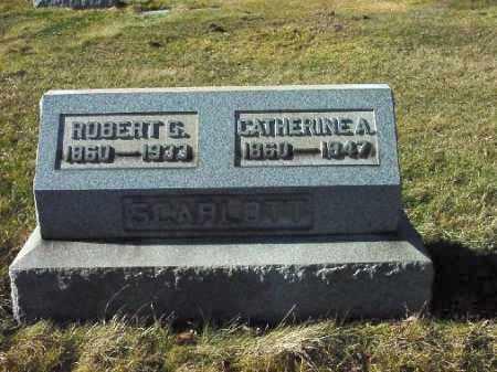 CARSON SCARLOTT, CATHERINE A. - Carroll County, Ohio | CATHERINE A. CARSON SCARLOTT - Ohio Gravestone Photos
