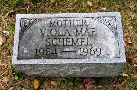 HAWK SCHEMEL, VIOLA MAE - Carroll County, Ohio | VIOLA MAE HAWK SCHEMEL - Ohio Gravestone Photos
