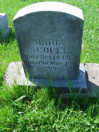 SCOPEL, MARIA - Carroll County, Ohio | MARIA SCOPEL - Ohio Gravestone Photos
