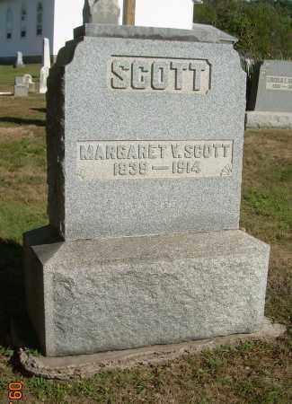 VASBINDER SCOTT, MARGARET V - Carroll County, Ohio | MARGARET V VASBINDER SCOTT - Ohio Gravestone Photos