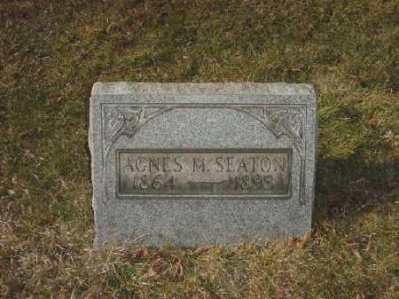 SEATON, AGNES M. - Carroll County, Ohio | AGNES M. SEATON - Ohio Gravestone Photos