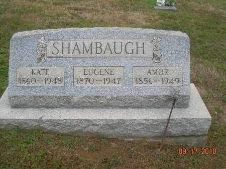 SHAMBAUGH, AMOR - Carroll County, Ohio | AMOR SHAMBAUGH - Ohio Gravestone Photos