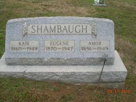 SHAMBAUGH, EUGENE - Carroll County, Ohio | EUGENE SHAMBAUGH - Ohio Gravestone Photos