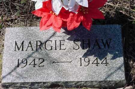 SHAW, MARGIE - Carroll County, Ohio   MARGIE SHAW - Ohio Gravestone Photos