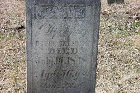 SHEPHERD, JANE - Carroll County, Ohio   JANE SHEPHERD - Ohio Gravestone Photos