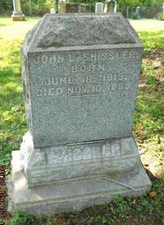 SHISSLER, JOHN L - Carroll County, Ohio | JOHN L SHISSLER - Ohio Gravestone Photos