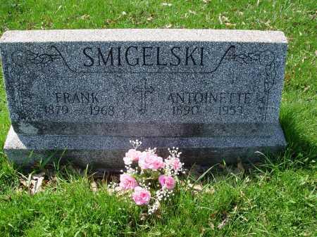 SMIGELSKI, FRANK - Carroll County, Ohio | FRANK SMIGELSKI - Ohio Gravestone Photos
