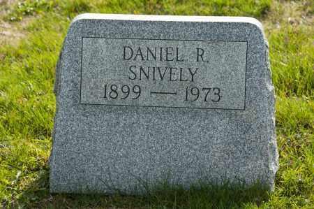 SNIVELY, DANIEL R. - Carroll County, Ohio   DANIEL R. SNIVELY - Ohio Gravestone Photos