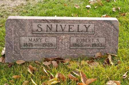 SNIVELY, MARY COLVIN - Carroll County, Ohio | MARY COLVIN SNIVELY - Ohio Gravestone Photos