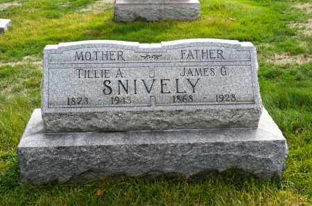 SNIVELY, JAMES G. - Carroll County, Ohio | JAMES G. SNIVELY - Ohio Gravestone Photos