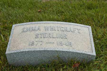 STERLING, EMMA - Carroll County, Ohio | EMMA STERLING - Ohio Gravestone Photos