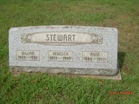 MCCARTY STEWART, REBECCA - Carroll County, Ohio | REBECCA MCCARTY STEWART - Ohio Gravestone Photos