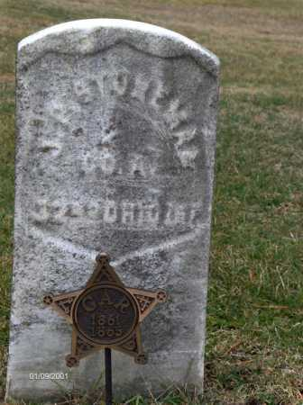 STONEMAN, JAMES - Carroll County, Ohio | JAMES STONEMAN - Ohio Gravestone Photos
