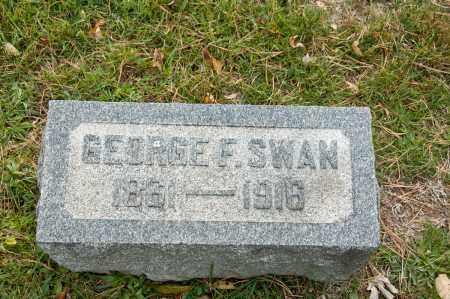 SWAN, GEORGE F. - Carroll County, Ohio | GEORGE F. SWAN - Ohio Gravestone Photos