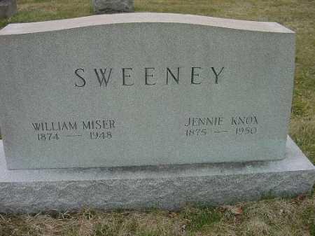 SWEENEY, JENNIE - Carroll County, Ohio   JENNIE SWEENEY - Ohio Gravestone Photos