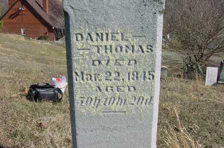 THOMAS, DANIEL - Carroll County, Ohio | DANIEL THOMAS - Ohio Gravestone Photos