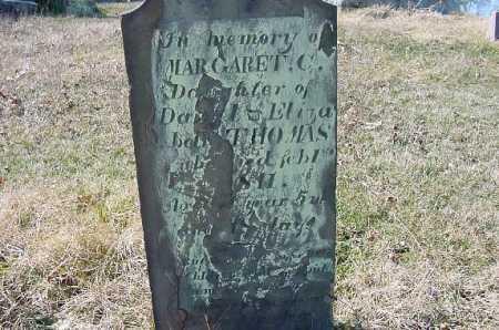 THOMAS, MARGARET - Carroll County, Ohio | MARGARET THOMAS - Ohio Gravestone Photos
