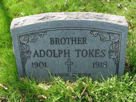 TOKES, ADOLPH - Carroll County, Ohio   ADOLPH TOKES - Ohio Gravestone Photos
