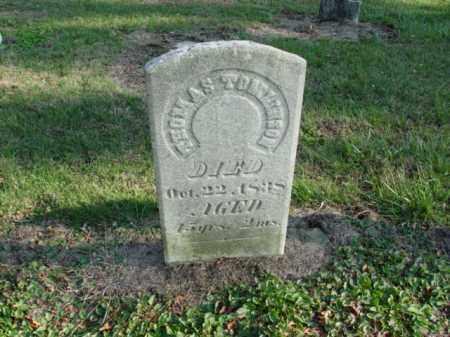 TOMLINSON, THOMAS - Carroll County, Ohio | THOMAS TOMLINSON - Ohio Gravestone Photos