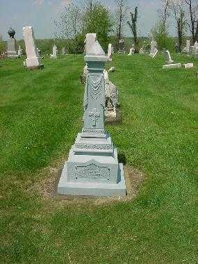 TURNIPSEED, LUCINDA - MONUMENT - Carroll County, Ohio | LUCINDA - MONUMENT TURNIPSEED - Ohio Gravestone Photos