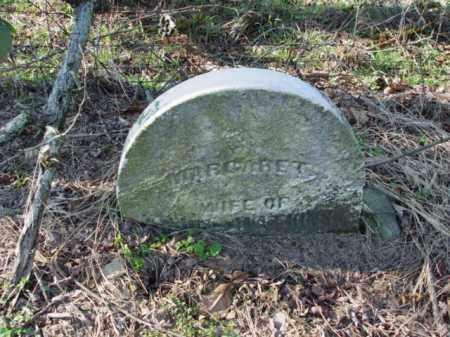 UNKNOWN, MARGARET - Carroll County, Ohio | MARGARET UNKNOWN - Ohio Gravestone Photos
