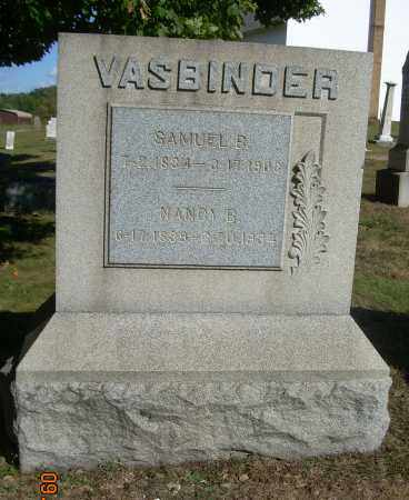 BUCHANAN VASBINDER, NANCY - Carroll County, Ohio | NANCY BUCHANAN VASBINDER - Ohio Gravestone Photos