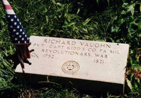 VAUGHN, RICHARD - Carroll County, Ohio | RICHARD VAUGHN - Ohio Gravestone Photos